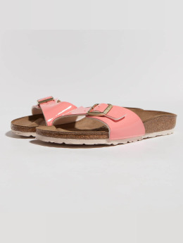 Birkenstock Sandals Madrid BF Patent Two Tone pink
