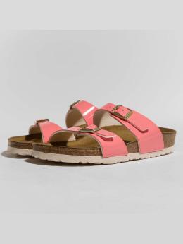 Birkenstock Slipper/Sandaal Sydney BF Patent Two Tone pink