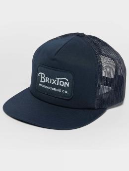 Brixton Casquette Trucker mesh Grade Mesh bleu