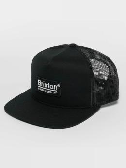Brixton Casquette Trucker mesh Palmer Mesh noir