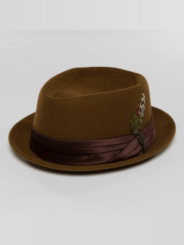 Brixton hoed Stout bruin