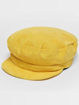 Brixton hoed Fiddler Un geel