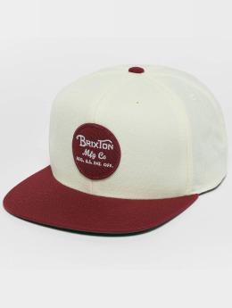 Brixton snapback cap Wheeler beige