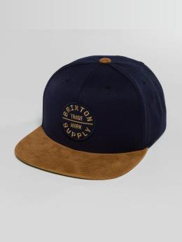 Brixton Snapback Cap Oath III blu