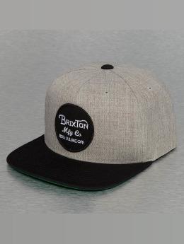 Brixton Snapback Cap Wheeler gray