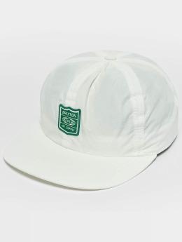 Brixton Snapback Cap United white