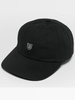 Brixton B-Shield II Snapback Cap Black