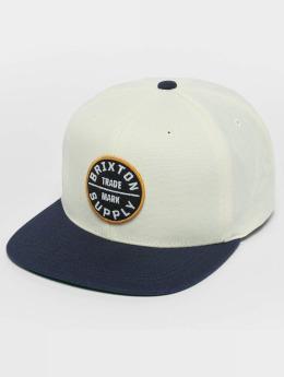 Brixton Snapback Caps Oath III hvid