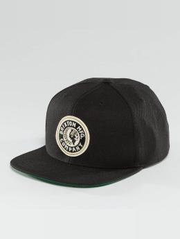 Brixton Snapback Caps Rival musta