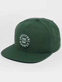 Brixton Snapback Caps Oath III oliven