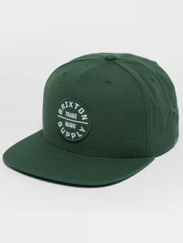 Brixton Snapback Caps Oath III oliwkowy