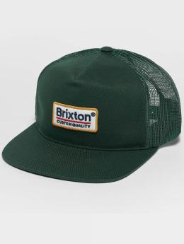 Brixton Trucker Cap Palmer Mesh grün