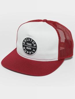 Brixton / trucker cap Oath III in rood