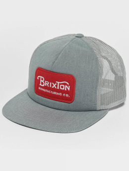 Brixton Grade Mesh Trucker Cap Heather Grey