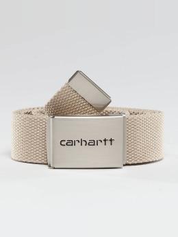 Carhartt WIP Ремень Clip бежевый