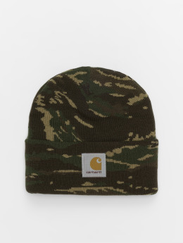 Carhartt WIP Czapki Wip Camo Tiger Jungle moro