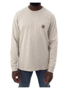 Carhartt WIP Longsleeve LS Pocket beige