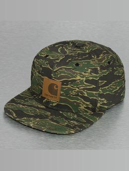 Carhartt WIP Snapback Cap Logo Canvas camouflage