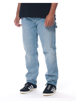 Carhartt WIP Straight Fit Jeans Ruck Single blå