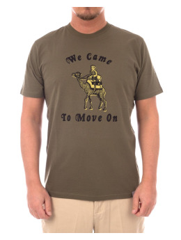 Carhartt WIP T-Shirt We Came To Move On grün