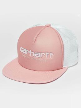 Carhartt WIP Siena Trucker Cap Soft Rose/White/White