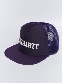 Carhartt WIP Trucker College Trucker Cap fialová