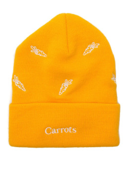 Carrots Fitted Cap All Over zólty