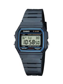 Casio Uhr F-91W schwarz