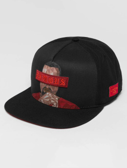 Cayler & Sons WL Drop Out Snapback Cap Black/Red