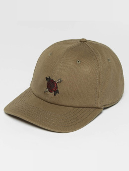 Cayler & Sons CL Rosewood Snapback Curved Cap Olive/Multicolor