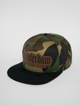 Cayler & Sons Snapback Cap Amsterdam Lux camouflage