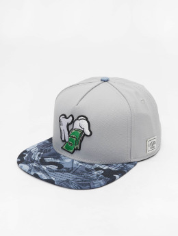 Cayler & Sons Snapback Cap Make It Rain grey