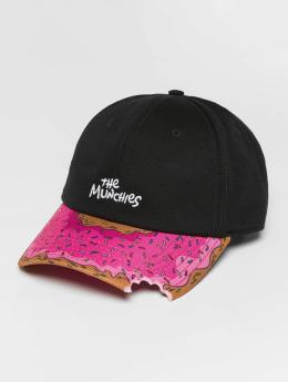 Cayler & Sons WL Munchies Snapback Curved Cap Black/Multicolor