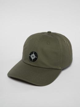Cayler & Sons snapback cap Cl Navigating Curved olijfgroen
