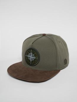Cayler & Sons Snapback Caps Navigating oliven