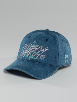 CHABOS IIVII Snapback Caps Pyramid niebieski