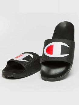 Champion Slipper/Sandaal Pool zwart