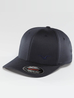 Cleptomanicx Flexfitted Cap Flex blau