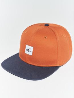 Cleptomanicx Snapback Cap Badger 3 grau