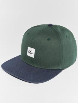 Cleptomanicx Snapback Cap Badger 3 grün