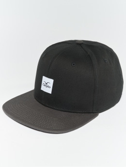 Cleptomanicx Snapback Cap Badger 3 schwarz