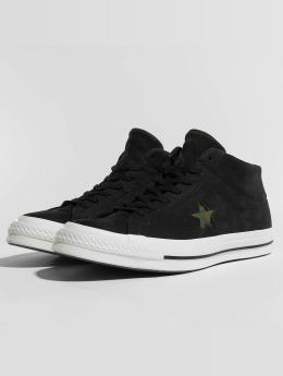 Converse Sneaker One Star Mid schwarz