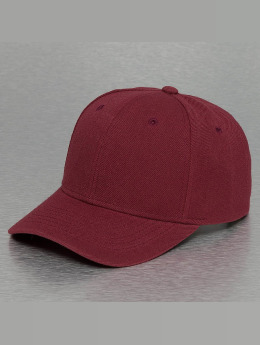 Cyprime Snapback Caps PreCurved czerwony