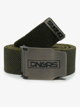 Dangerous DNGRS Belts Ribbon oliven