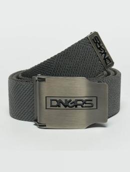 Dangerous DNGRS Cinturón Ribbon gris