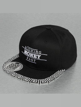 Dangerous DNGRS Snapback Cap Blowing Money schwarz