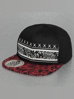 Dangerous DNGRS snapback cap Rose zwart