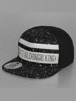 Dangerous DNGRS snapback cap Born To Rule zwart