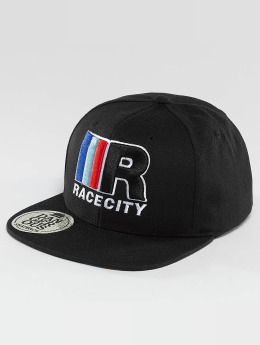 Dangerous DNGRS snapback cap MRC Race City zwart