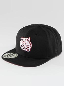 Dangerous DNGRS snapback cap LGNDZ Logo zwart